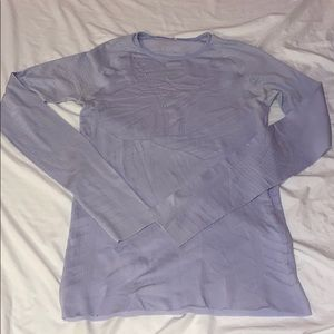 Lululemon Lavender Dusk Long Sleeve